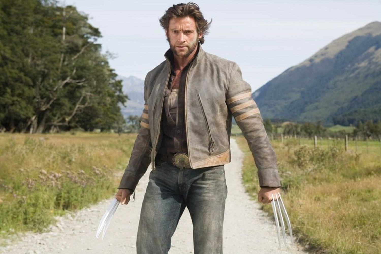 Hugh Jackman as Wolverine in Glenorchy